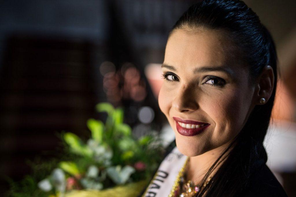 Saida Prieto, candidata a Reina del Carnaval de Santa Cruz 2018 | Foto: Andrés Gutiérrez