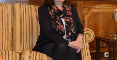 Cristina Narbona, presidenta del PSOE. / EP