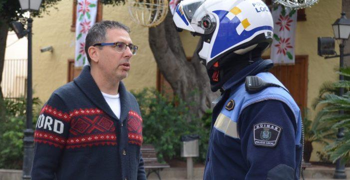 Denuncia por usurpar las funciones de la Jefatura de la Policía Local