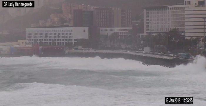 Armas y Binter cancelan rutas debido al fuerte viento