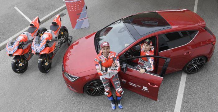 SEAT y Ducati, toda la potencia en el mundial de MotoGP