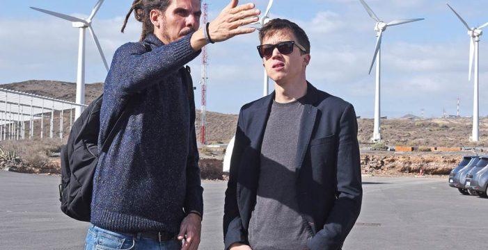 """Errejón, en el ITER: """"Canarias debe ser la Arabia Saudí de las renovables"""""""