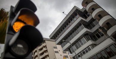 Fachada del edificio sede de la Policía Local de Santa Cruz