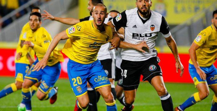 El Valencia empata en Las Palmas en el debut de Paco Jémez