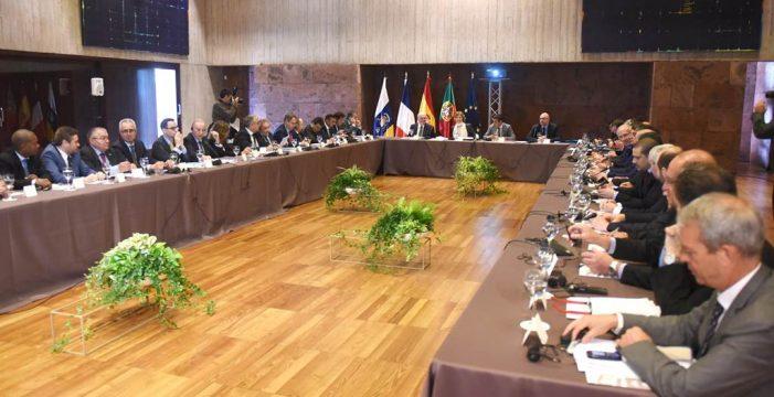 Canarias escenifica la unidad de las  RUP ante la reforma agraria de la UE