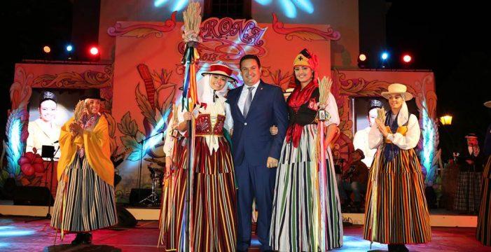 Georgina Graziana, romera mayor de las fiestas  de Arona