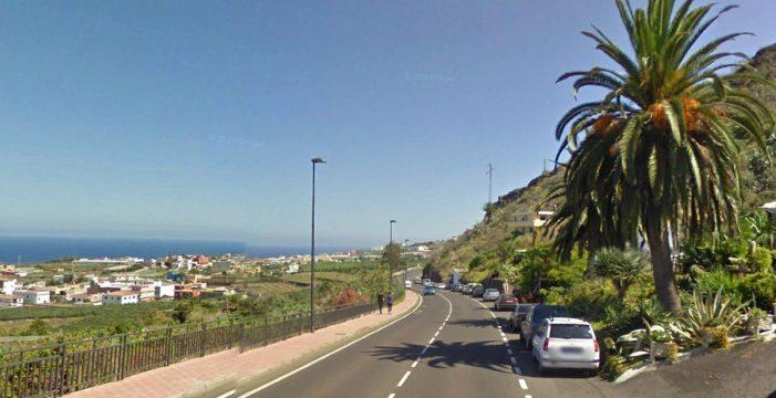 Un ciclista resulta herido tras chocar contra un turismo en La Laguna