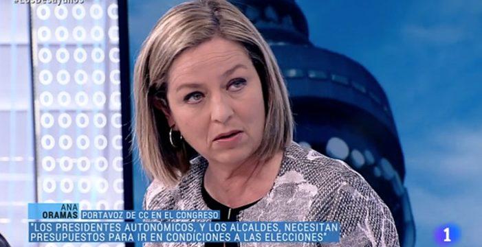 """El PNV responde a Ana Oramas (CC): """"Es radicalmente falso"""""""
