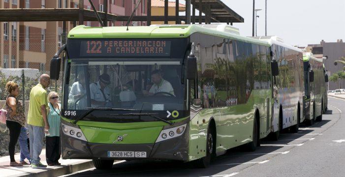 Titsa reforzará los trayectos a Candelaria por el día de la patrona de Canarias