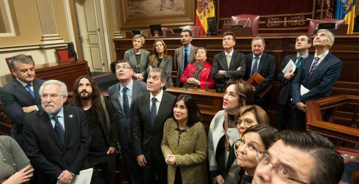 Carolina Darias, nueva presidenta de la conferencia de parlamentos autonómicos