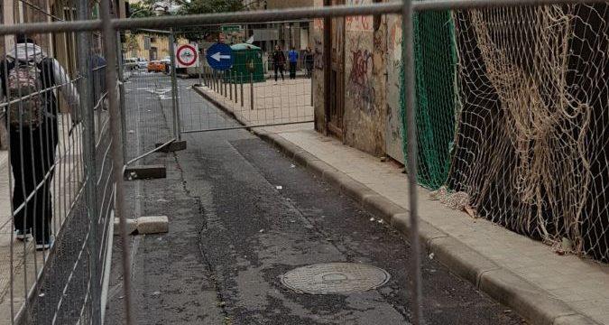 Santa Cruz recibe el apoyo de Fepeco ante el bloqueo de la obra en la calle Puerta Canseco