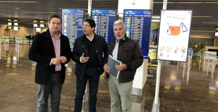 """Los alcaldes del sur de Tenerife avisan de las """"terribles"""" consecuencias del cierre nocturno del aeropuerto"""