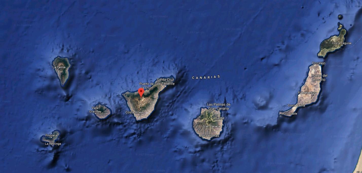 Archipiélago canario. / GOOGLE MAPS