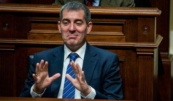 """Fernando Clavijo (CC): """"Ni me ocupa ni me preocupa una moción de censura"""""""