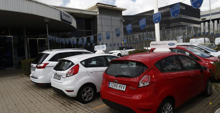 Las ventas de coches subieron un 6,8% en Canarias en 2017