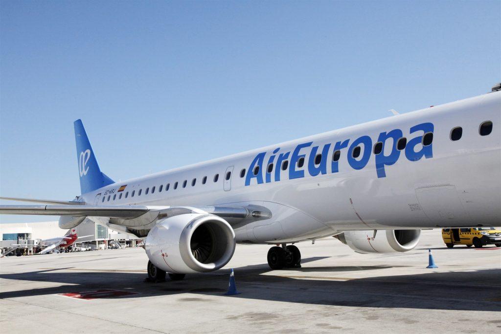 Avión de la compañía Air Europa. / EP