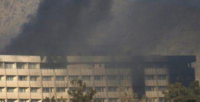 Al menos 43 muertos en el asalto al Hotel Intercontinental de Kabul