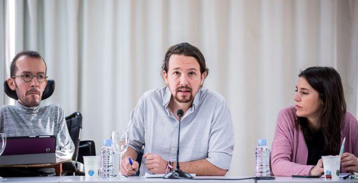 """Pablo Iglesias reconoce el momento """"difícil"""" de Podemos tras los malos resultados del 21D pero """"no tira la toalla"""""""