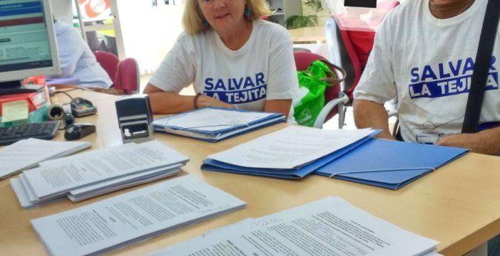 Salvar La Tejita presenta más de 200 alegaciones contra el gas