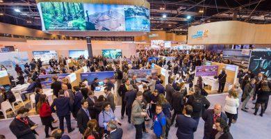 Estand de las Islas Canarias en la última edición de la Feria Internacional de Turismo (Fitur), en Madrid. DA