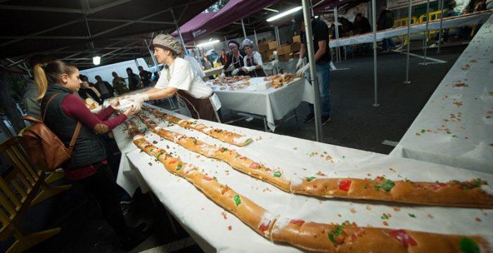 El roscón gigante de Reyes aspira al récord Guiness el próximo año
