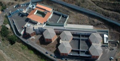 Vista aérea del Centro de Internamiento Educativo para Menores Infractores de Valle Tabares. DA