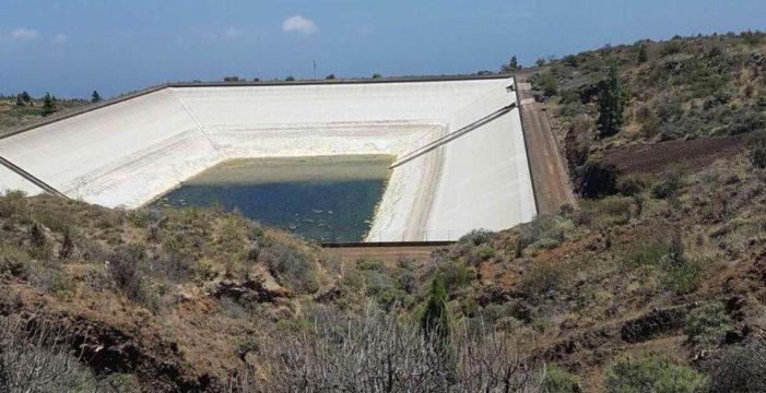 La capacidad de las balsas de Tenerife asciende hasta el 39%