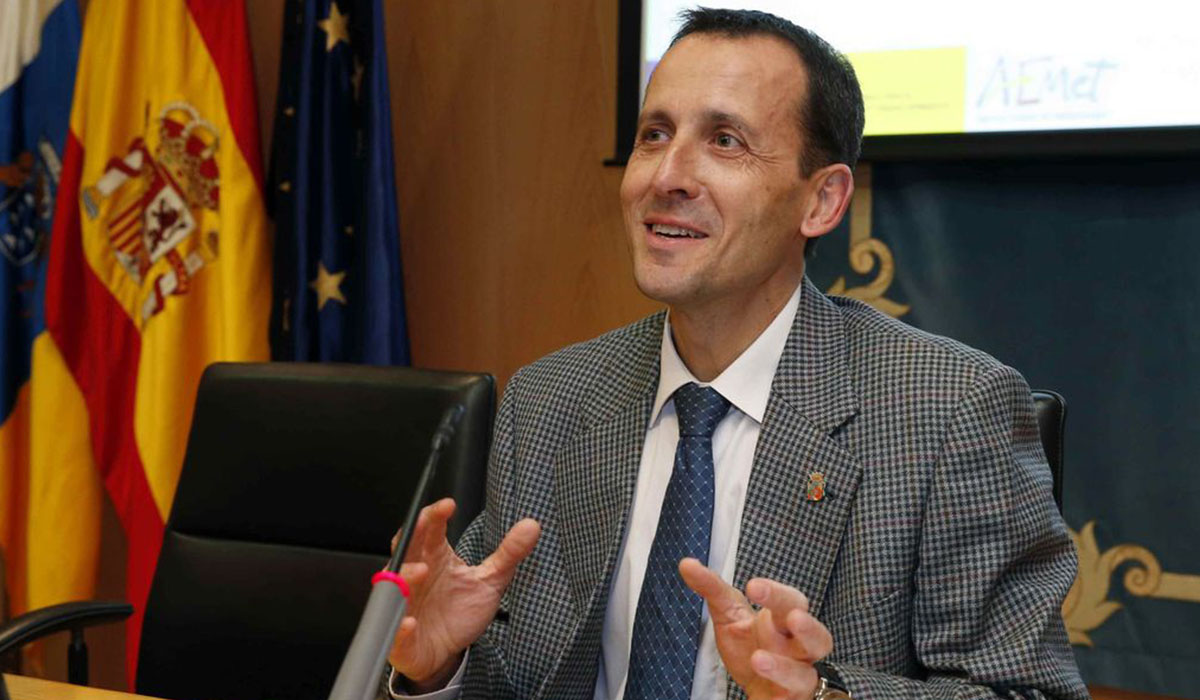Jesús Agüera Merino, meteorólogo y delegado de la Aemet en Canarias. DA