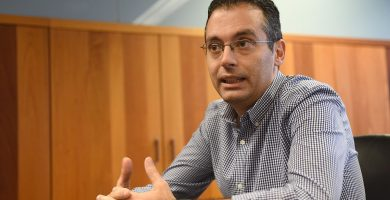 Carlos Tarife es concejal delegado de Urbanismo en el Ayuntamiento de Santa Cruz. Sergio Méndez