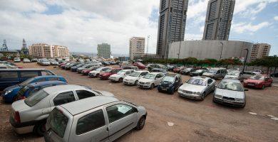 Con la compra de una parcela en la trasera de las torres de Cabo Llanos, el Gobierno de Canarias ha convertido en público todo el suelo de la zona. Fran Pallero