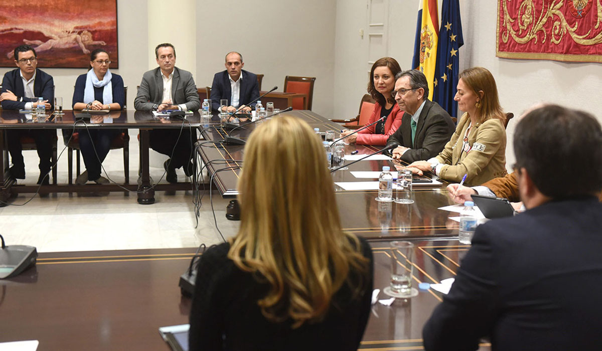 La ponencia parlamentaria para la reforma electoral canaria comenzó sus trabajos en junio de 2017. Sergio Méndez