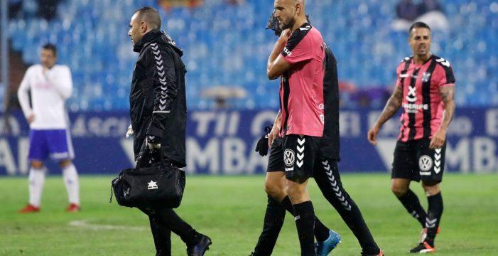 Más problemas para el CD Tenerife en la defensa con la lesión de Lucas Aveldaño