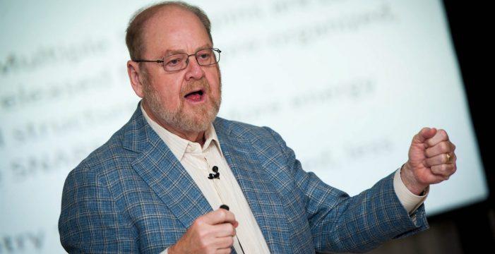 """James E. Rothman: """"Mi consejo para los jóvenes investigadores es que no se desanimen"""""""