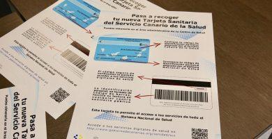 Más de 200.000 personas tienen ya su nueva tarjeta sanitaria en Canarias
