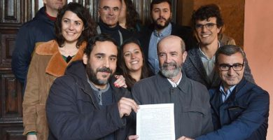 """Rubens Ascanio (Unid@s se puede): """"¿Mónica Martín alcaldesa? No ponemos líneas rojas a la censura"""""""