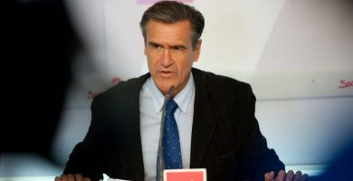 El eurodiputado socialista Juan Fernando López Aguilar. Fran Pallero