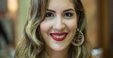 Verónica Delgado de la Rosa, candidata a Reina. Andrés Gutiérrez