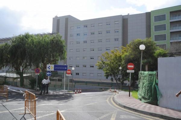 Acceso al Servicio de Urgencias del Hospital Universitario Nuestra Señora de Candelaria. Sergio Méndez