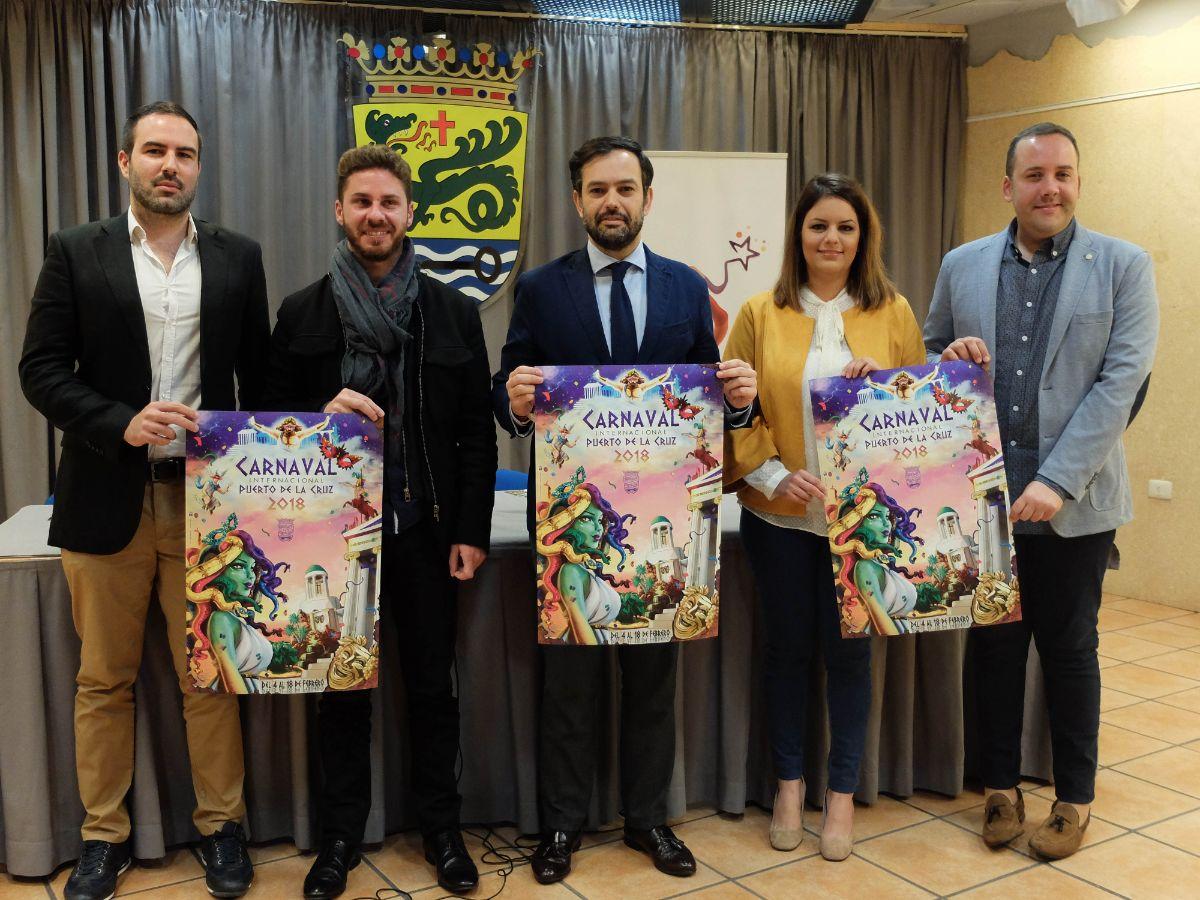 Imagen de la presentación del Carnaval portuense. DA