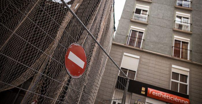 Protesta vecinal en Puerta Canseco para exigir la reapertura de la calle