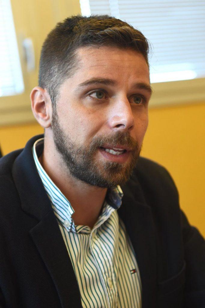 Javier Rodríguez, presidente del Consorcio de Bomberos de Tenerife   Foto: Sergio Méndez