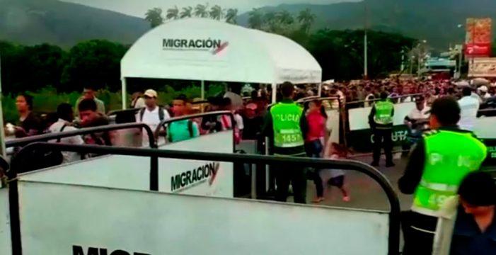 Colombia acoge ya a más de medio millón de venezolanos