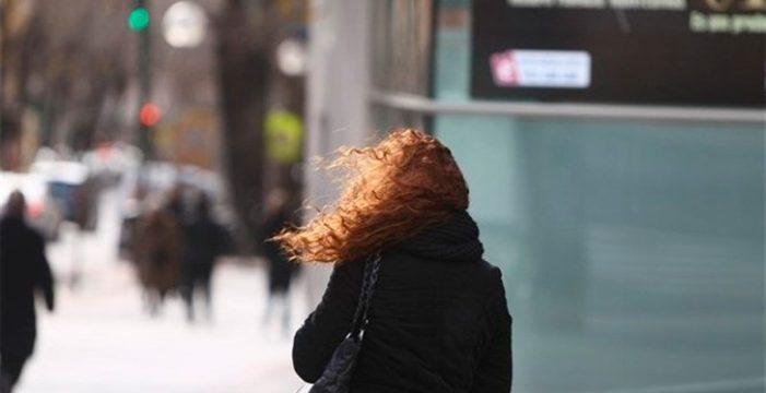 Alerta por vientos con rachas que podrían alcanzar los 100 km/h en La Gomera