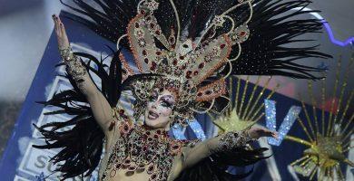 La Tullida, durante la gala drag.