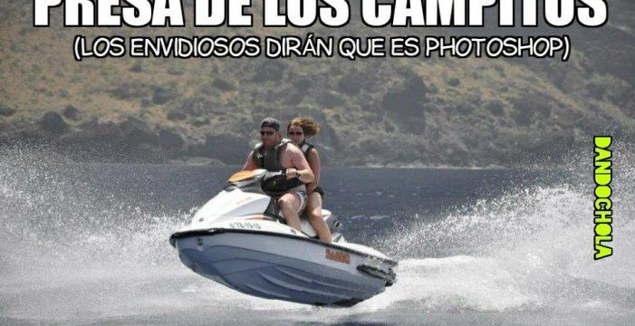 Lluvia de 'memes' por la borrasca en Tenerife