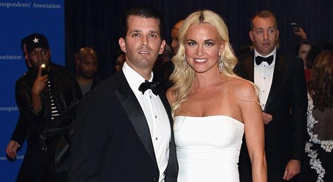 Donald Trump Junio y su esposa Vanesa. / Daily Mail