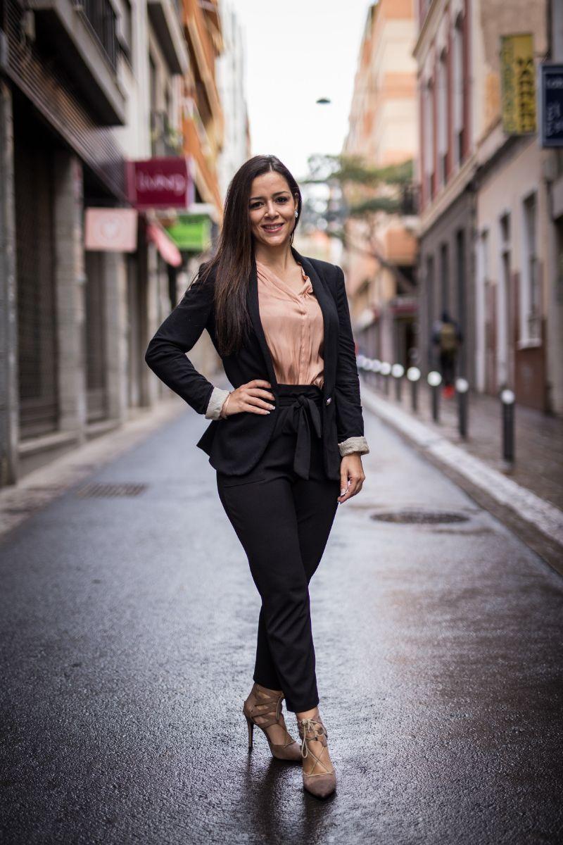 Carmen Laura Lourido, candidata a Reina del Carnaval de Santa Cruz. Andrés Gutiérrez
