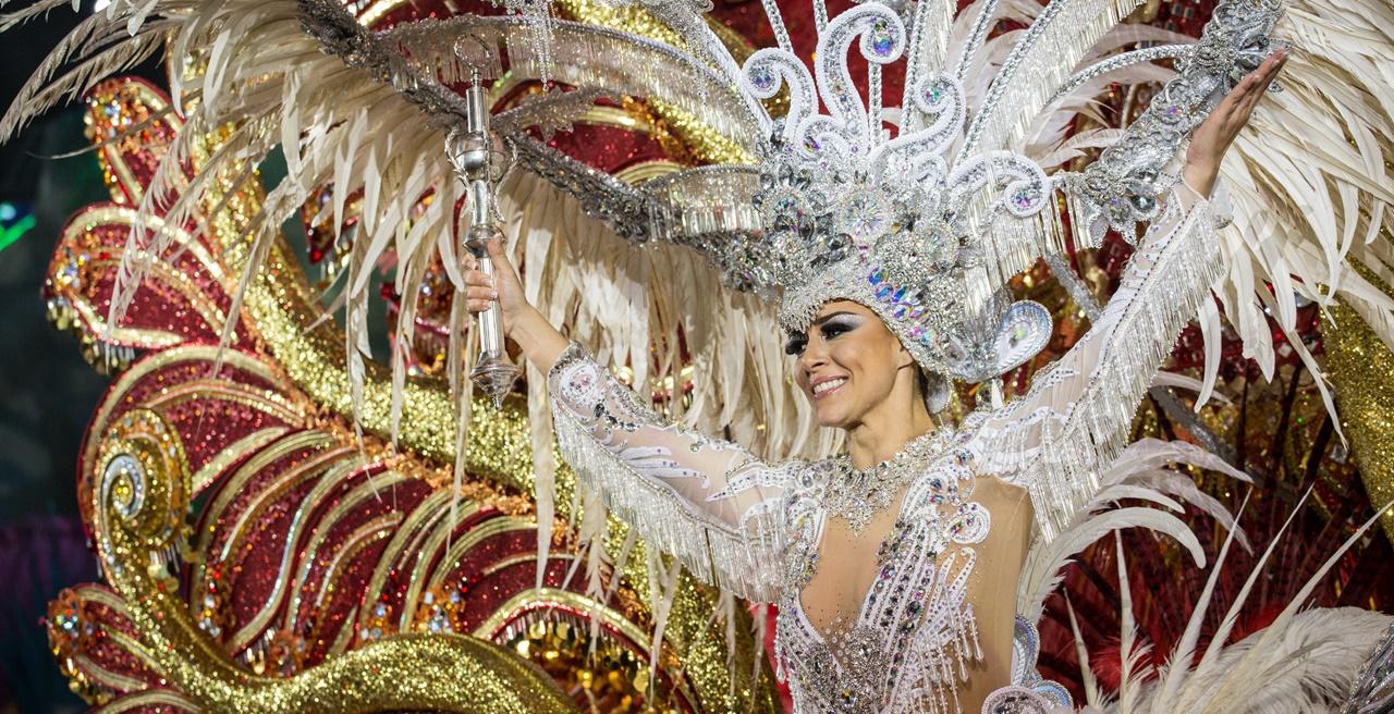 Carmen Laura Lourido, Reina del Carnaval de Santa Cruz