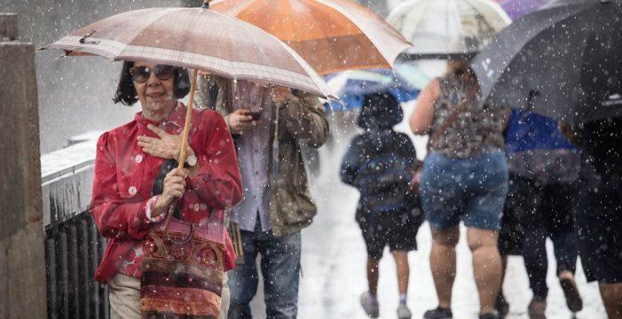 Prealerta por lluvias y tormentas en Canarias este lunes