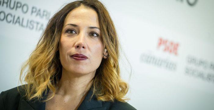 Patricia Hernández, nombrada secretaria segunda de la Mesa del Parlamento de Canarias